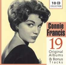Connie Francis: 19 Original Albums & Bonus Tracks, 10 CDs