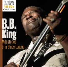 B.B. King: Milestones Of A Blues Legend - 10 Original Albums & Bonus Tracks, 10 CDs