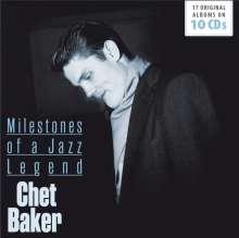 Chet Baker (1929-1988): Milestones Of A Jazz Legend -17 Original Albums, 10 CDs