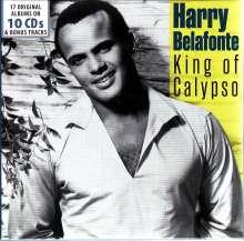Harry Belafonte: King Of Calypso - 17 Original Albums & Bonus Tracks, 10 CDs