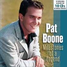 Pat Boone: Milestones Of A Legend - 19 Original Albums & Bonus Tracks, 10 CDs