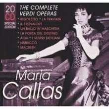 Giuseppe Verdi (1813-1901): Maria Callas - The Complete Verdi Operas, 20 CDs