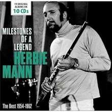 Herbie Mann (1930-2003): Milestones Of A Legend - 19 Original Albums, 10 CDs