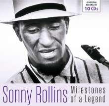 Sonny Rollins (geb. 1930): Milestones Of A Legend -18 Original Albums, 10 CDs