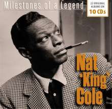 Nat King Cole (1919-1965): Milestones Of A Legend - 22 Original Albums, 10 CDs