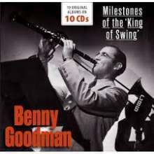 Benny Goodman (1909-1986): Milestones Of The 'King Of Swing' - 19 Original Albums, 10 CDs
