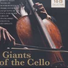 Giants of the Cello, 10 CDs