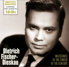 Dietrich Fischer-Dieskau - Milestones of the Singer of the Century, 10 CDs