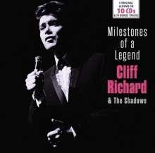 Cliff Richard & The Shadows: Milestones Of A Legend, 10 CDs