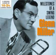 Glenn Miller (1904-1944): Milestones Of A Swing Legend (13 Original Albums), 10 CDs
