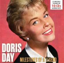 Doris Day: Milestones Of A Legend - 22 Original Albums & Bonus Tracks, 10 CDs