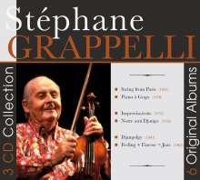 Stéphane Grappelli (1908-1997): 6 Original Albums, 3 CDs