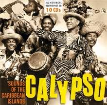 Calypso: Sounds of the Caribbean Islands, 10 CDs