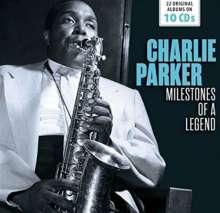 Charlie Parker (1920-1955): Milestones Of A Legend - 22 Original Albums, 10 CDs