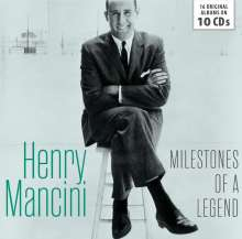 Henry Mancini (1924-1994): Milestones Of A Legend: 16 Original Albums, 10 CDs