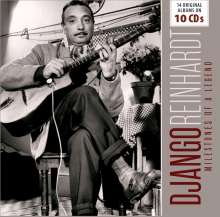 Django Reinhardt (1910-1953): Milestones Of A Legend - 14 Original Albums, 10 CDs