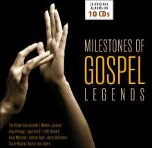 Milestones Of Gospel Legends - Original Albums, 10 CDs