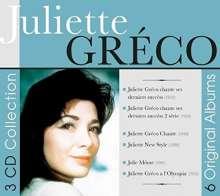Juliette Gréco: 6 Original Albums, 3 CDs