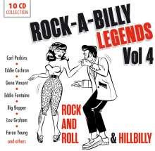 Rock-A-Billy Legends Vol.4, 10 CDs