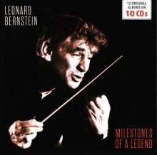 Leonard Bernstein -  Milestones of a Legend, 10 CDs