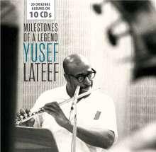 Yusef Lateef (1920-2013): Milestones Of A Legend - 20 Original Albums, 10 CDs