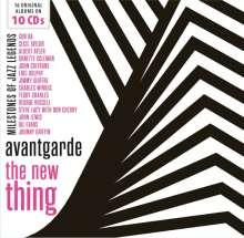 Jazz Sampler: Avantgarde: The New Thing (Milestones Of Jazz Legends), 10 CDs