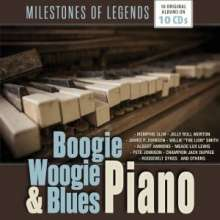 Boogie Woogie & Blues Piano, 10 CDs