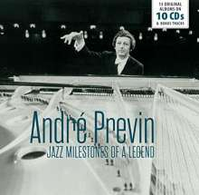 Andre Previn - Jazz Milestones Of A Legend, 10 CDs