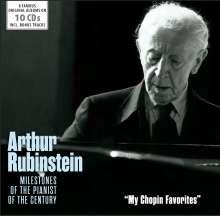 Arthur Rubinstein - My Chopin Favorites, 10 CDs