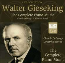 Walter Gieseking - The Complete Music of Debussy & Ravel, 6 CDs