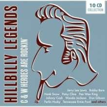 Hillbilly Legends, 10 CDs