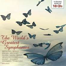 The World's Greatest Symphonies, 10 CDs