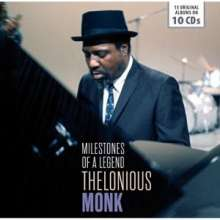 Thelonious Monk (1917-1982): Milestones Of A Legend - 15 Original Albums, 10 CDs