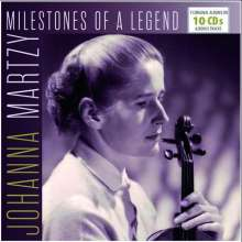 Johanna Martzy - Milestones Of A Legend, 10 CDs