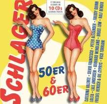 Schlager: 50er & 60er (17 Original-Albums On 10 CDs), 10 CDs
