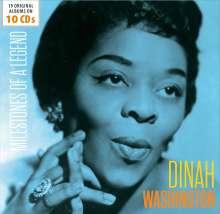 Dinah Washington (1924-1963): Milestones Of A Legend - 19 Original Albums, 10 CDs