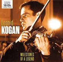 Leonid Kogan - Milestones of a Legend, 10 CDs