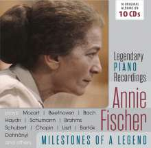 Annie Fischer - Milestones of a Legend, 10 CDs