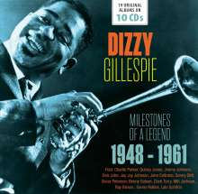 Dizzy Gillespie (1917-1993): Milestones Of A Legend - 19 Original Albums, 10 CDs
