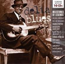 Blues Sampler: Delta Blues (Milestones Of Legends), 10 CDs
