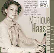 Monique Haas - Milestones of a Legend, 10 CDs