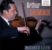 Arthur Grumiaux - Milestones of a Legend, 10 CDs