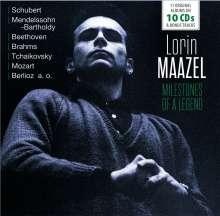 Lorin Maazel - Milestones of a Legend, 10 CDs