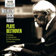 Wilhelm Backhaus plays Beethoven, 10 CDs