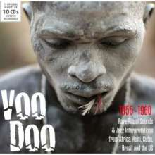Voodoo: Rare Ritual Sounds & Jazz Interpretations, 10 CDs