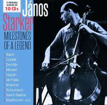 Janos Starker - Milestones of a Legend, 10 CDs