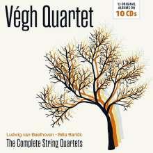 Vegh Quartett - The Complete String Quartets (Beethoven / Bartok), 10 CDs