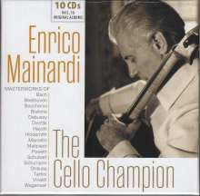 Enrico Mainardi - The Cello Champion, 10 CDs