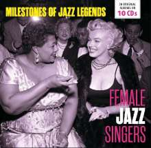 Female Jazz Singers - Milestones Of Jazz Legends, 10 CDs