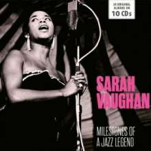 Sarah Vaughan (1924-1990): Milestones Of A Jazz Legend, 10 CDs